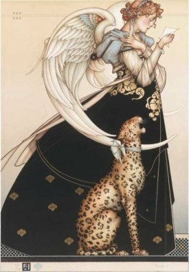 """Letter"" by Michael Parkes"
