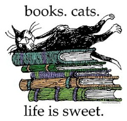"""Books. Cats. Life is Sweet"" by Edward Gorey"