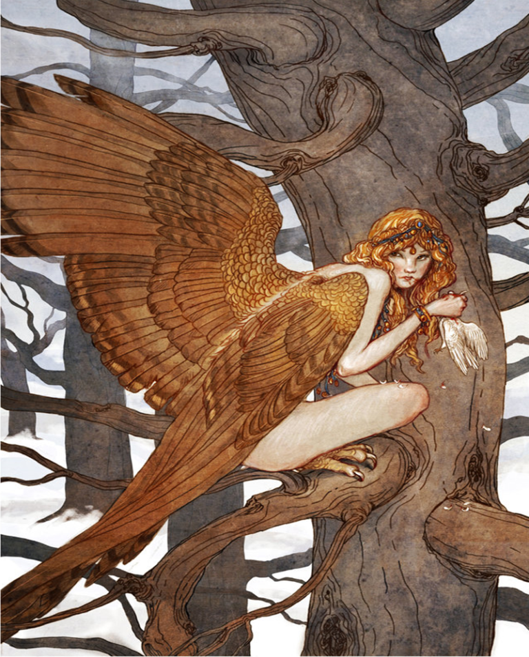 """""""Harpy"""" by Erin Kelso (bluefooted on deviantart)"""
