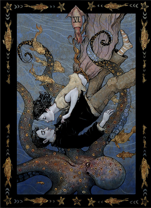 """""""The Lovers"""" by Erin Kelso (bluefooted on deviantart)"""