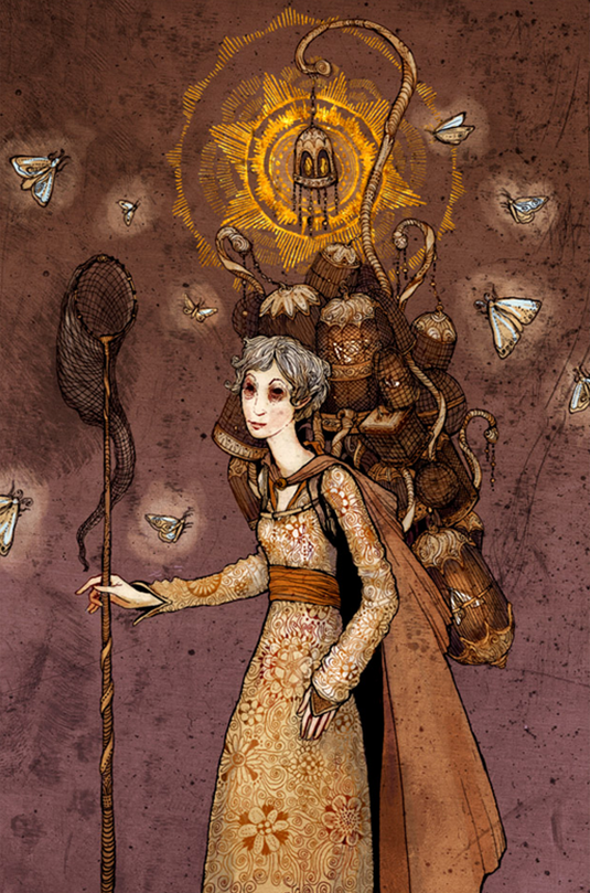 """""""The Soul Collector"""" by Erin Kelso  (bluefooted on deviantart)"""