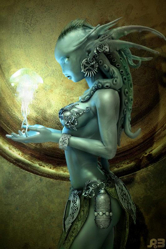 """""""Mermaid"""" by Pascal Blanché"""